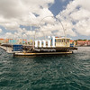 Queen Emma Bridge in Willemstad Curacao