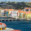 Curacao with Queen Emma Bridge in Willemstad