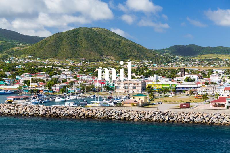 The port of St Kitts