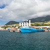 The port in St Kitts