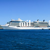 Cruise Ship in St Kitts