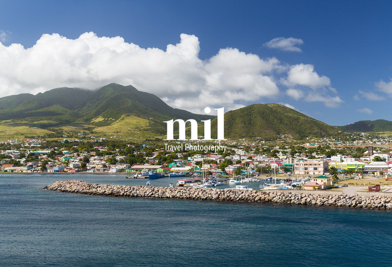 The port of St Kitts