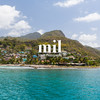 Off the coast of St Lucia