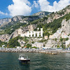 The Italian coastal town of Amalfi