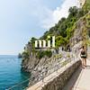 Walking the cliffs of Positano