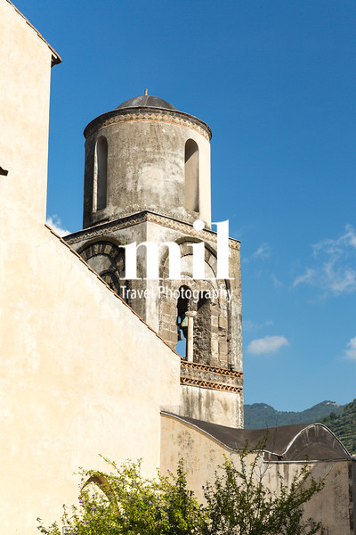 Old Church Bell Tower on the Amalfi Coast
