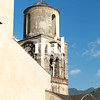 Old Church Bell Tower on the Amalfi Coast