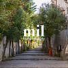 A walkay street leading upwards in Italy