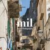 A side street in Positano on the Amalfi Coast