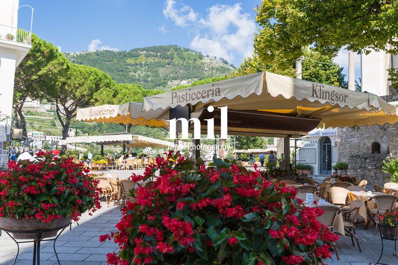 The beautiful village of Ravello on the Amalfi Coast
