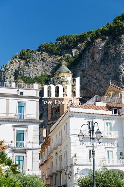 The Italian coastal town of Amalfi