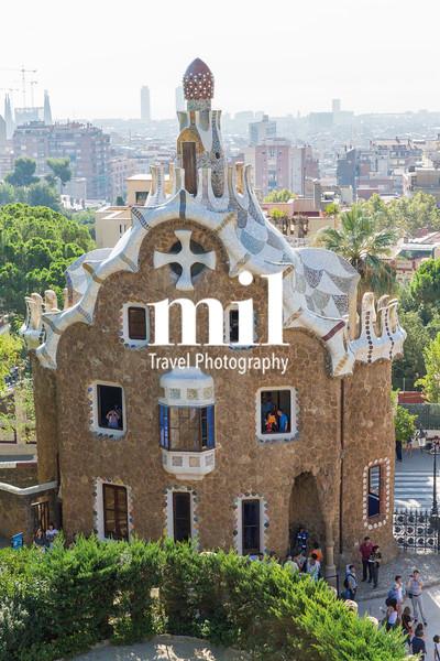 Gaudi Guard House at Parc Guell
