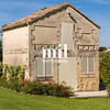Old French building in Bordeaux Vineyard