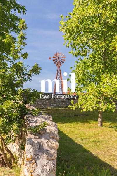 Windmill at the Bordeaux Vineyard