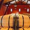 Oak Wine Barrels in Bordeaux
