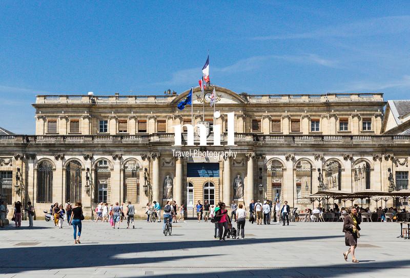 Palais Rohan Hotel de Ville Bordeaux