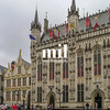 Traditional Bruges city building