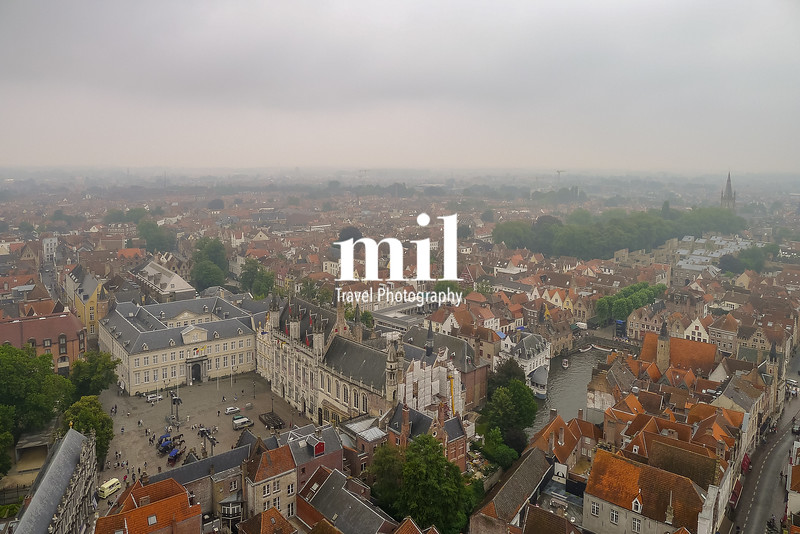 View of Bruges from the Tower in the Square