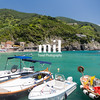 The small port at Monterosso of the Cinque Terre