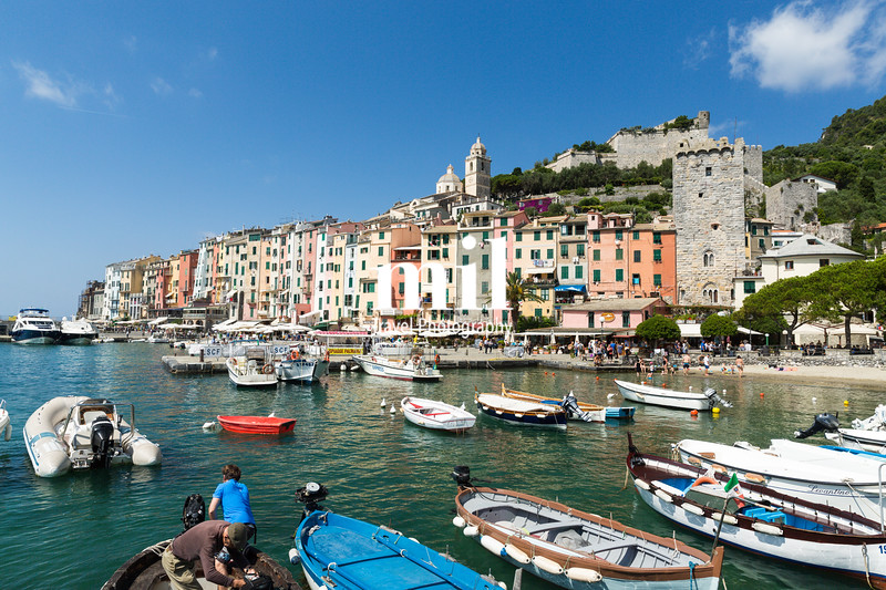 Portovenere in the Ligurian region of Italy