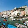 Portovenere in the Ligurian region of Italy
