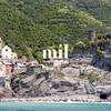 The village of Vernazza of the Cinque Terre