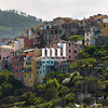 The village of Corniglia of the Cinque Terre
