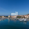 The harbour in Ajaccio on the island of Corsica