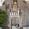 Entrance to the walled city of Dubrovnik