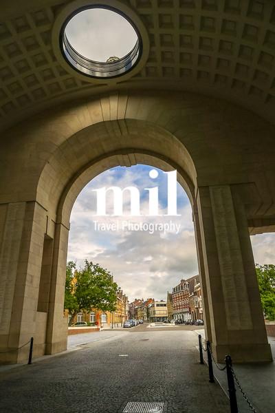 View through the Menin Gate