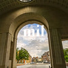 View through the Menin Gate