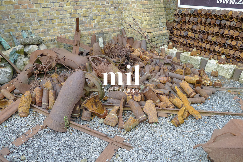 WW1 Ammunition stored near Ypres