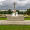 Hooge Crater WW1 Cemetery near Ypres