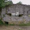 WW1 Pillbox at Hill 60 near Ypres