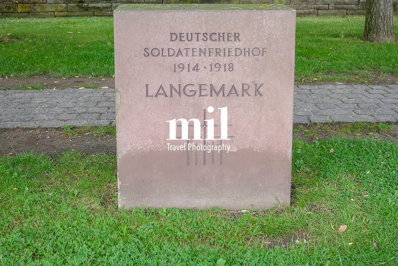 Langemark Cemetry near Ypres