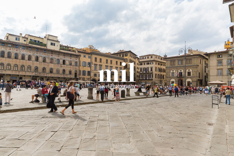 Piazza di Santa Croce in Florence