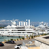 Luxury Yachts in Antibes