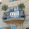 Traditional French Balcony in St Paul de Vence