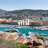 The port of Nice in France