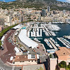 The Monaco Skyline and racetrack