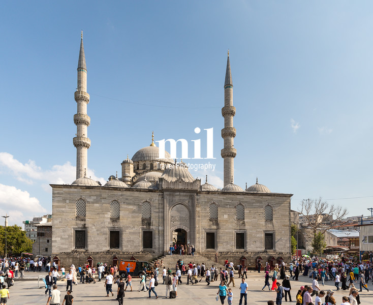 Yeni or New Mosque in Istanbul
