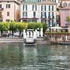 Landing jetty at Bellagio on Lake Como