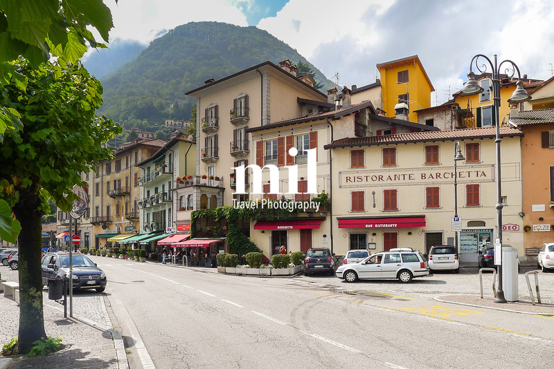 Traditional Italian Village on Lake Como