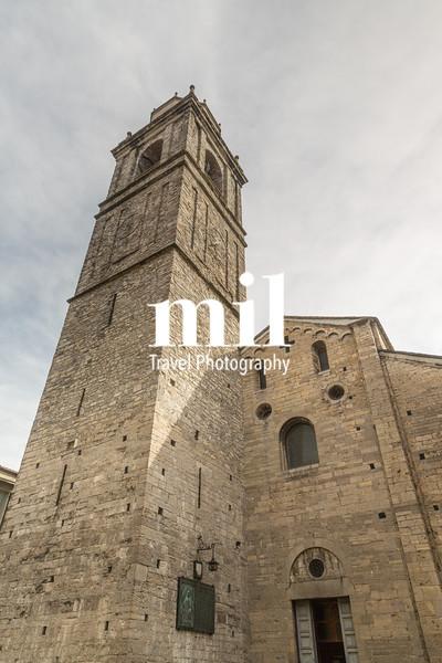 Church in Bellagio on Lake Como in Italy