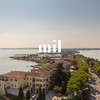 The view from Castello Scaligero in Sirmione on Lake Garda