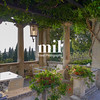 Beautiful relaxing Italian garden in Sirmione on Lake Garda