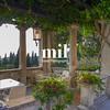 Beautiful relaxing Italian garden in Sirmione on Lake Garda