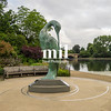 "Serenity ""Isis"" Sculpture in Hyde Park by Gudgeon"