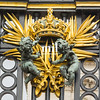 A section of the Buckingham Palace Gates