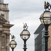 Three in a series of The old City of London Street Lights near the Bank of England